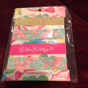 Lilly Pulitzer hair ties New in packaging
